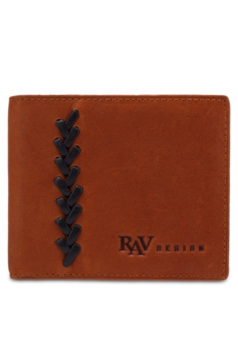 RAV Design brown Leather Wallet RA113AC0RQL4MY_1