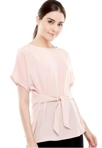 Luna Habit pink Luna Habit Vera Top Blouse Wanita - Blush 447B0AA79FF2FAGS_1