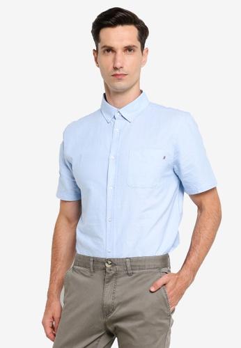 Cotton On blue Vintage Prep Short Sleeve Shirt D54C0AA69FA138GS_1