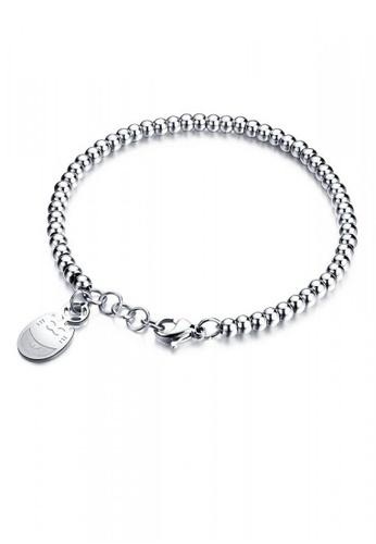 ADORA Stainless Steel Bead Bracelet AD365AC2VTJ4HK_1
