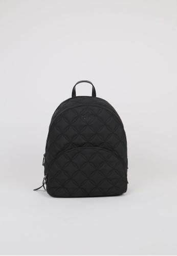 KATE SPADE black Kate Spade Large Karissa Quilted WKRU7054 Nylon Backpack In Black 452E3AC4F8D6B4GS_1