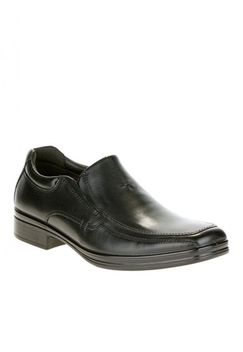 Hush Puppies black Quatro Slipon BK M 518F0SHEE8101AGS_1