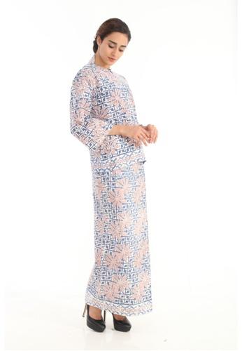 Amar Amran blue Kurung Kedah Batik Pastel 78D99AA86AF478GS_1
