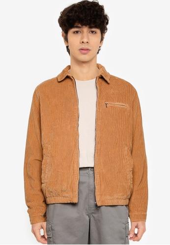 Cotton On 米褐色 Harrington 外套 2E555AADE583A1GS_1