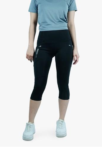 Trijee Trijee Paige Women Legging 3/4 - Black 759E6AA2C8B880GS_1