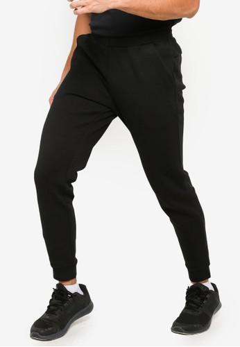 Anta black Cross Training Knit Track Pants 6ACEEAADD97668GS_1