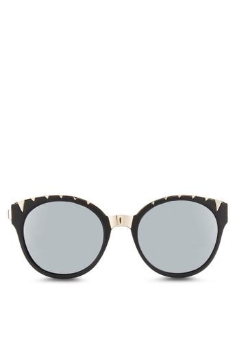 JPJL2202 金飾貓眼太陽眼鏡, 飾品配件, 飾品esprit門市地址配件
