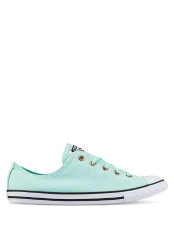 Converse green Chuck Taylor All Star Dainty Sneakers CO302SH0RZNUMY_1