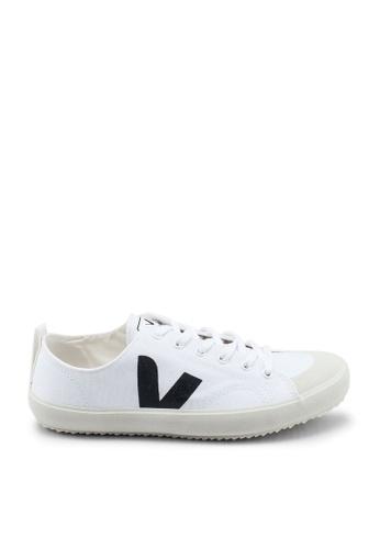 Veja black and white Nova Canvas Sneakers 68D69SH48137B1GS_1