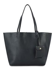 Reversible Shoulder Bag with Sling Bag