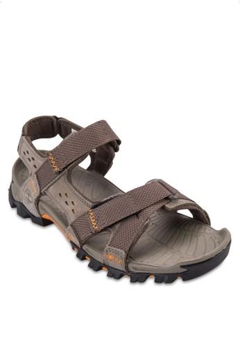 Eldridge 魔術氈繞踝涼鞋, 鞋, esprit台北門市鞋