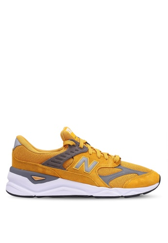 New Balance yellow X90 Lifestyle Reconstructed Shoes 83A6ESH4D2DA1DGS_1