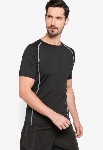 ZALORA ACTIVE black Muscle Training T-Shirt 90815AAC08946EGS_1