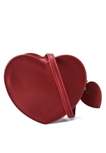 GLOBAL WORK red Kids Heart Bag 08465KC892E41AGS_1