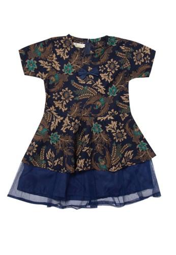 Rianty Kids navy Dress Anak Amel 993B0KA71C74DFGS_1