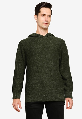 GAP 綠色 Pullover Hoodie 8B13CAADEE0E61GS_1
