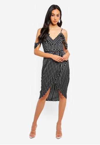 5085e77d72 Shop MISSGUIDED Petite Cold Shoulder Midi Dress Online on ZALORA Philippines