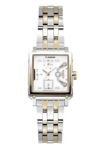 Expedition gold and silver Expedition Jam Tangan Wanita - Silver Gold - Stainless Steel - 6695 BFBTGSL 1E558ACB401858GS_1
