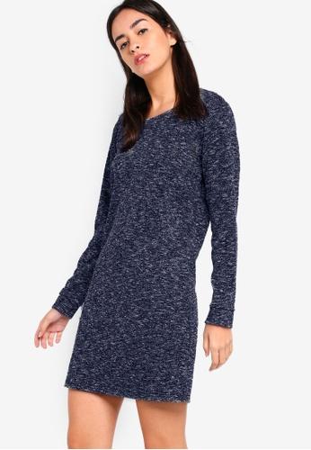 ZALORA navy Sweater Dress 8FB14AA7C97808GS_1