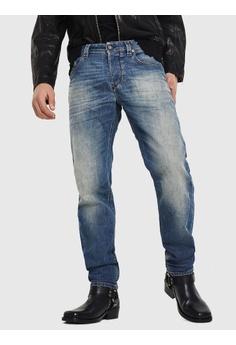 65838c4f Diesel blue Straight Regular Larkee-Beex Jeans 07EF7AABD77C24GS_1