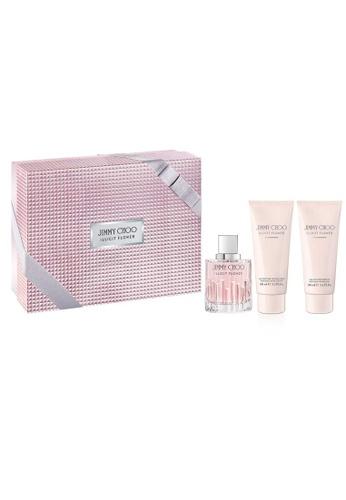 Jimmy Choo pink Jimmy Choo Illicit Flower EDP 100ml Gift Set JI111BE0GXKMSG_1