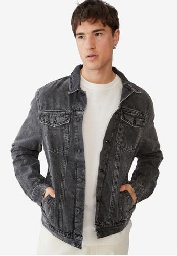 Cotton On black Rodeo Jacket FCBC0AACA56DEFGS_1