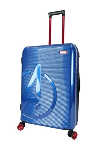 MARVEL navy Marvel Avengers VAA9956 20inch ABS+PC Expendable Hardcase Luggage With TSA Lock & Double Colour Anti-Theft Zipper F7DCBAC40409F0GS_1