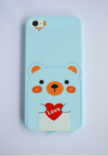 Fancy Cellphone Cases multi Love Bear Case FA644AC23VIAPH_1