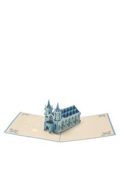 Pop Cards Manila Heritage Edition Church Blue