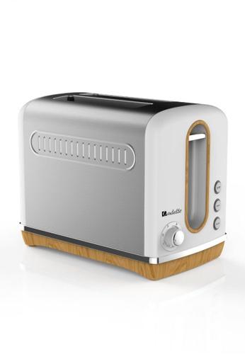Odette white Streamline Series 2-Slice Bread Toaster (White) 6D38DHL083E6B7GS_1