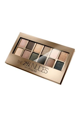 L'Oréal Paris multi Maybelline 24K Nudes Eyeshadow Palette Gold LO618BE75ZAEMY_1