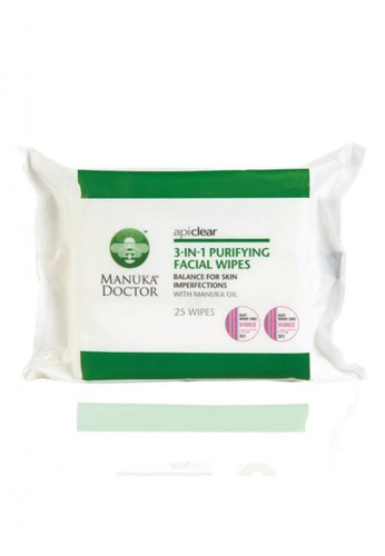 Manuka Doctor ApiClear Purifying Facial Wipes MA135BE20OZJSG_1