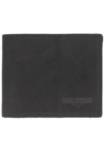 midzone black BULL RYDERS Premium Genuine Leather Wallet 27EECACF59AA03GS_1