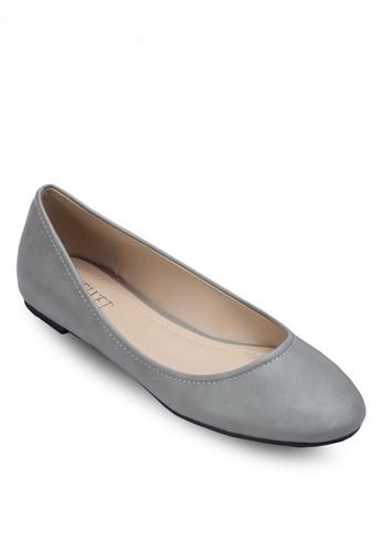 Dorla 基本款仿皮平底鞋, 女鞋, zalora 包包評價芭蕾平底鞋