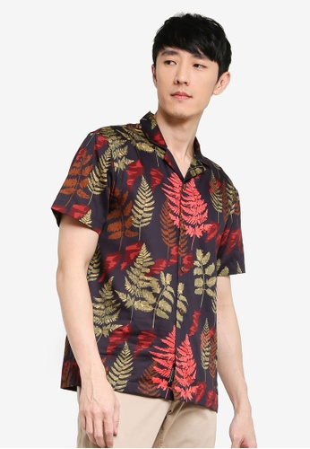 Scotch & Soda multi Hawaii Fit - All-Over Printed Short Sleeve Shirt A2288AA362F53DGS_1