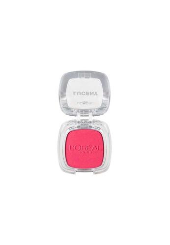 L'Oreal Paris Lucent Magique Mono Blush P4 Scarlet Pink