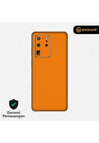 Exacoat Galaxy S20 Ultra 3M Skins True Colors - Pumpkin Orange 1C809ES9D74C08GS_1