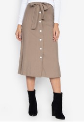 Susto The Label beige Margo Paperbag Skirt 4D1F2AA883E11CGS_1