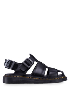 e282c42f91 Dr. Martens black Kassion Sandals BEE1DSH0978A1BGS_1