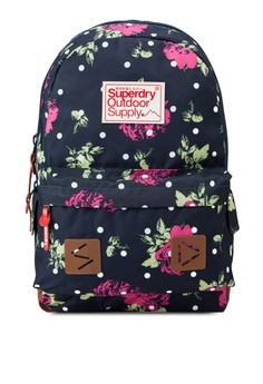 Polka Dot Rose Montana Backpack