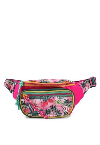 Desigual pink Printed Waist Bag 77443KC3AD55FAGS_1