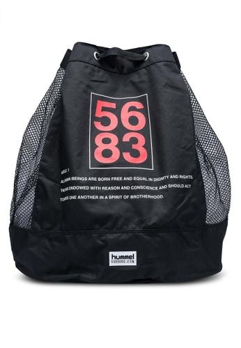 Hummel black Willy Ball Bag 37E2FAC24EDE49GS_1