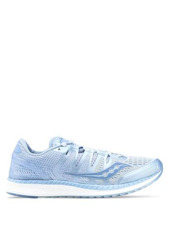 Saucony blue Liberty ISO Shoes SA304SH0SW4WMY_1