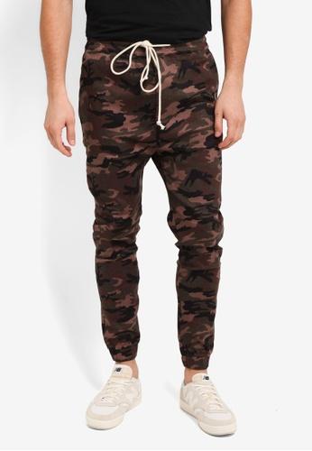 Flesh IMP green Yager Side Pocket Jogger Pants F0084AAAEA0A12GS_1