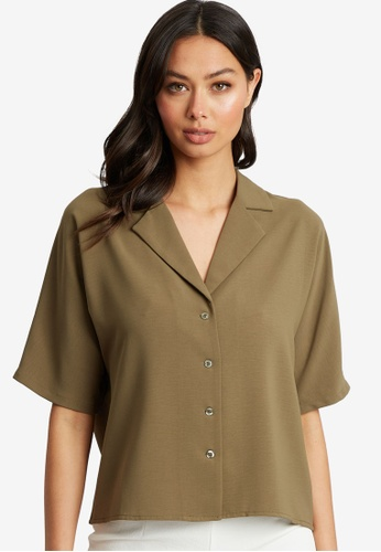 REUX green West Shirt 675F4AA189C78AGS_1
