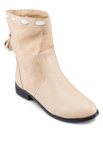 Callie 拉繩流蘇短zalora 包包評價靴, 女鞋, 靴子