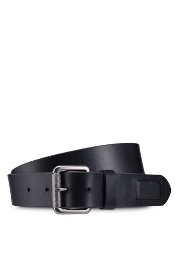Superdry black Badgeman Belt 670B3AC7635354GS_1