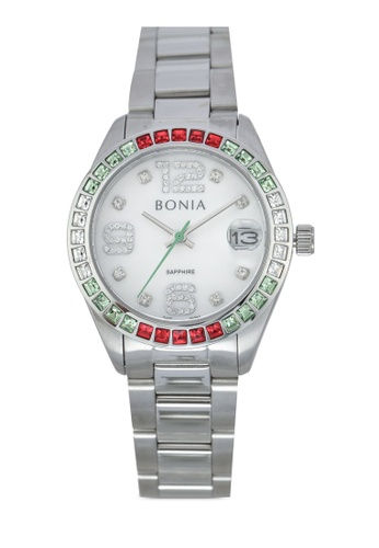 BONIA silver Bonia BNB10261-2395S Stainless Steel Watch BO777AC0SE06MY_1