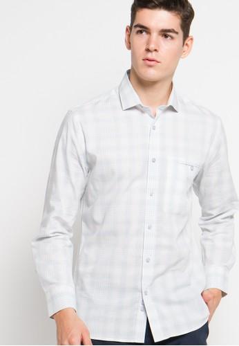EDITION blue Soft Plaid Shirt ED101AA03FGIID_1