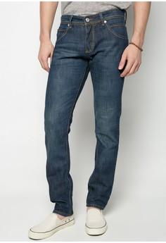 Denim Slim Fit Pants